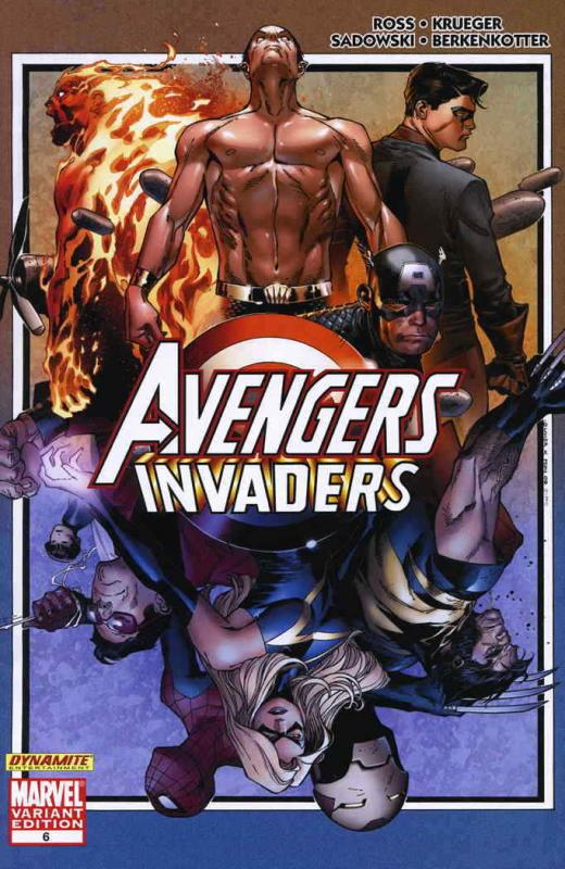 Avengers/Invaders #6A VF/NM; Marvel | save on shipping - details inside