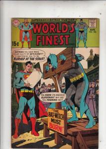 World's Finest #186 (Jul-69) VG Affordable-Grade Superman, Batman
