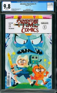 ADVENTURE TIME COMICS #1, CGC 9.8 NM/MT