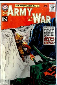 Our Army at War #120 (1962)