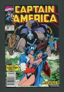 Captain America #369  / 9.4 NM  Nesstand  April 1990