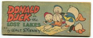 Donald Duck in the Lost Lakes - Wheaties Giveaways Comic C-5