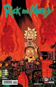 RICK and MORTY #16, 1st, NM, Grandpa, Oni Press,from Cartoon, 2015, Variant