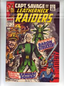 Captain Savage and His Leatherneck Raiders #2 (Mar-68) FN/VF Mid-High-Grade C...