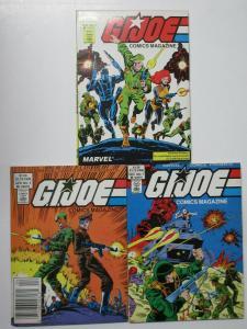 GI Joe Comics Magazine Marvel Digests # 2, 3, 7 Lot Freedom Force