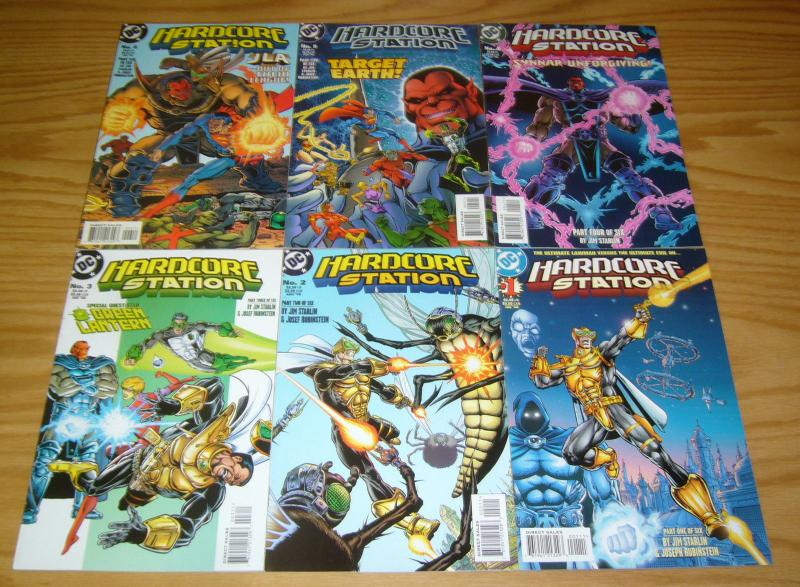 Hardcore Station #1-6 VF/NM complete series - jim starlin - dc comics set lot