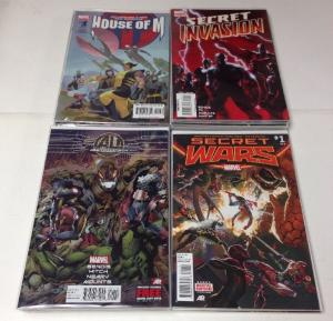 Marvel Mini Series Lot House Of M 1-2,4-8 Secret Invasion 1-8 Age Of Ultron 1-10