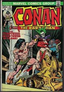 Conan #34 (Marvel, 1973) NM-