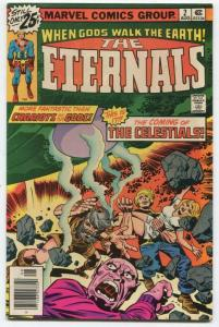 ETERNALS #2 Bronze Age Jack Kirby MARVEL ID#001 DL