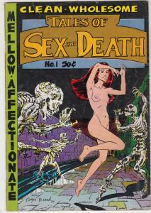 Tales of Sex and Death #1 (Apr-71) FN Mid-Grade Supergoy
