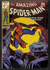 Amazing Spider-Man #70 VG+ 4.5