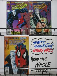 SPECTACULAR SPIDERMAN 204-206  Death By TOMBSTONE