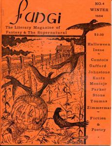 FUNGI QUARTERLY #4, VF, Halloween, 1984, rare, Fungoid Press, Fanzine