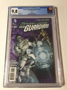 Green Lantern New Guardians 28 Cgc 9.8 Steampunk Variant Vhtf!!!