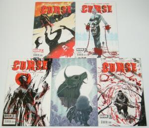 Curse #1-4 VF/NM complete series + variant - boom studios - riley rossmo set 2 3