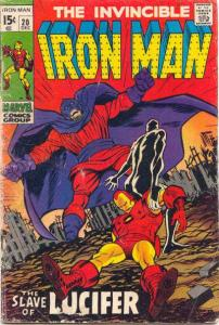 Iron Man (1968 series) #20, VG+ (Stock photo)