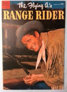 Flying A's Range Rider #9 Dell 1955 FN+ Golden Age Comic Book 1st Print