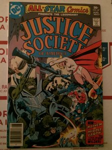 Justice Society of America  #67