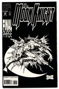 Marc Spector Moon Knight #60 comic book  last Issue 1994 Platt Art htf