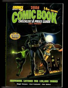 2008 Comic Book Checklist & Price Guide Comics Buyer's Guide 14th Edition MF5