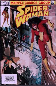 Spider-Woman #50 - 9.0 or Better -Last Issue
