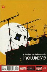 Hawkeye (4th Series) #22 VF/NM; Marvel | save on shipping - details inside