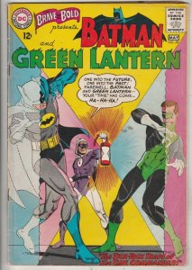 Brave and the Bold, The #59 (May-65) FN Mid-Grade Batman