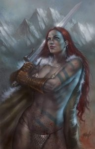 RED SONJA #1 LUCIO PARRILLO VIRGIN VARIANT NM Exclusive