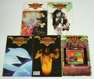 Tipper Gore's Comics and Stories #1-5 complete series - robert williams 2 3 4