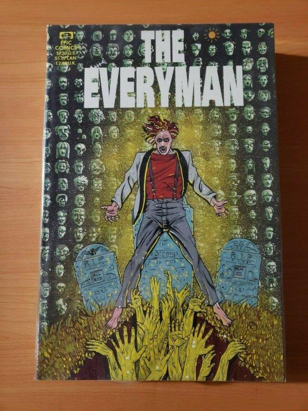 The Everyman #1 One-Shot TPB ~ NEAR MINT NM ~ 1991 Epic Comics