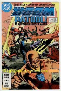 DOOM PATROL #1, NM, Kupperberg, 1987, Robot Man, Chief, more DC in store