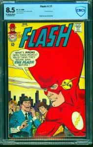 Flash #177 CBCS VF+ 8.5 Off White to White DC Comics
