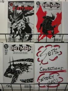 BATMAN 536-538  Darkest Night Of The Man-Bat