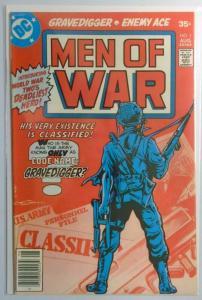 Men of War #1, 8.0/VF (1977)