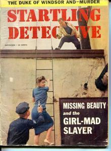 STARTLING DETECTIVE-SEPT 1959-G/VG-SPICY-MURDER-RAPE-KIDNAP-DUKE OF WINDSOR G/VG