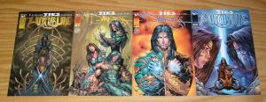 Witchblade/the Darkness: Family Ties #1-4 VF/NM complete story - michael turner
