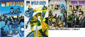WILD SEED (1995-2000 INDO CITY) 1-2,Ash2  Ronald King's COMICS BOOK