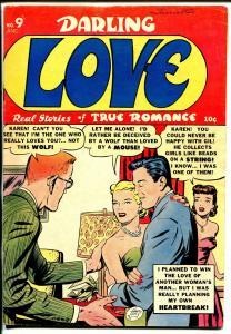 Darling Love #9 1952-Close-Up- Krigstein-violence-emotion-rare-lingerie-FN-