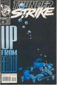 Thunderstrike (1993 series) #14, Fine- (Stock photo)