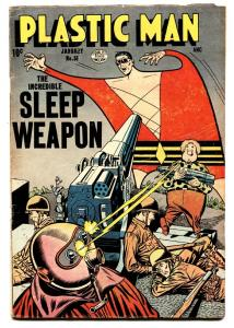 PLASTIC MAN  #51 comic book-1955-QUALITY-SLEEP WEAPON-WOOZY-