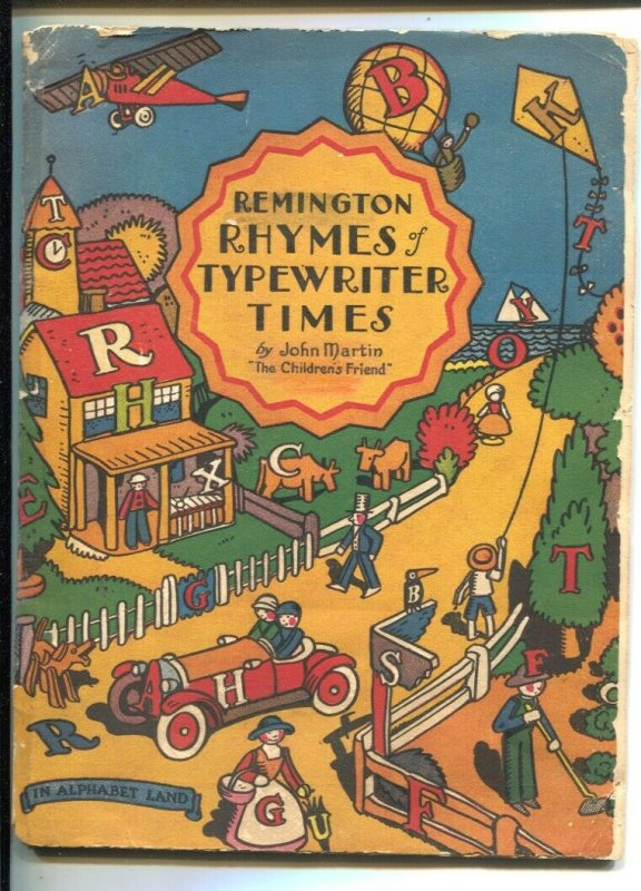 Remington Rhymes Of Typewriter Times 1929-promo item-36 pages-G