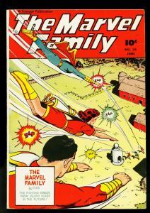 Marvel Family #24 1948- Fawcett Comics- Mary Marvel- Captain Marvel- VG