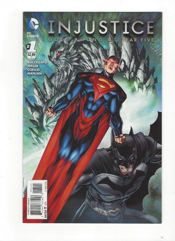 Injustice Gods Among Us Year Five #1 Booth/Rapmund 1:25 (1 in 25) Variant NM