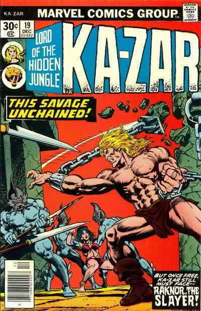 Ka-Zar (2nd Series) #19 VG; Marvel | low grade comic - save on shipping - detail
