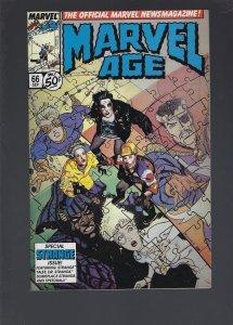 Marvel Age #66 (1988)