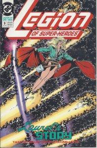 Legion of Super-Heroes #9 (July 1990) - Laurel Gand's Story