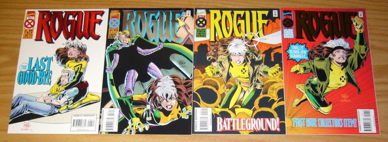 Rogue #1-4 VF/NM complete series - mike wieringo - x-men spin-off 2 3 set lot