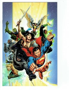 Justice League #1 NM Retailer Thank You Virgin Variant 2018 DC Comics 1st Print