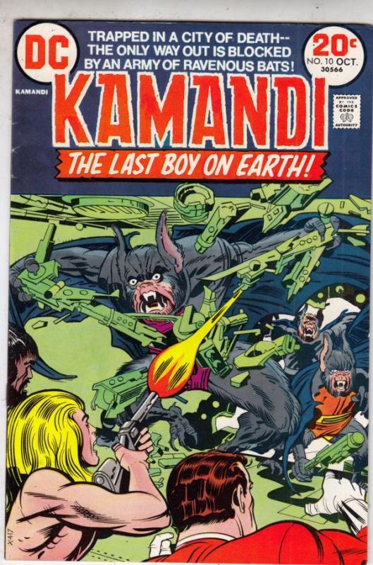 Kamandi the Last Boy on Earth #10 (Oct-73) VF+ High-Grade Kamandi