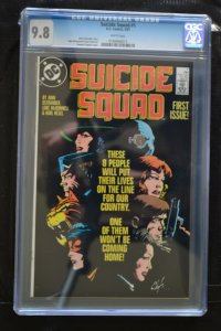 SUICIDE SQUAD # 1 : CGC  9.8 (NM/MT) : MAY 1987 : DC COMICS